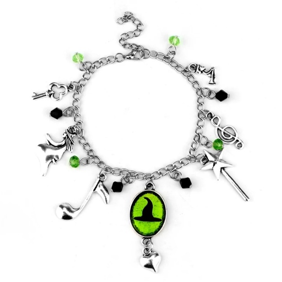 Wicked the musical charm bracelet Defying Gravity